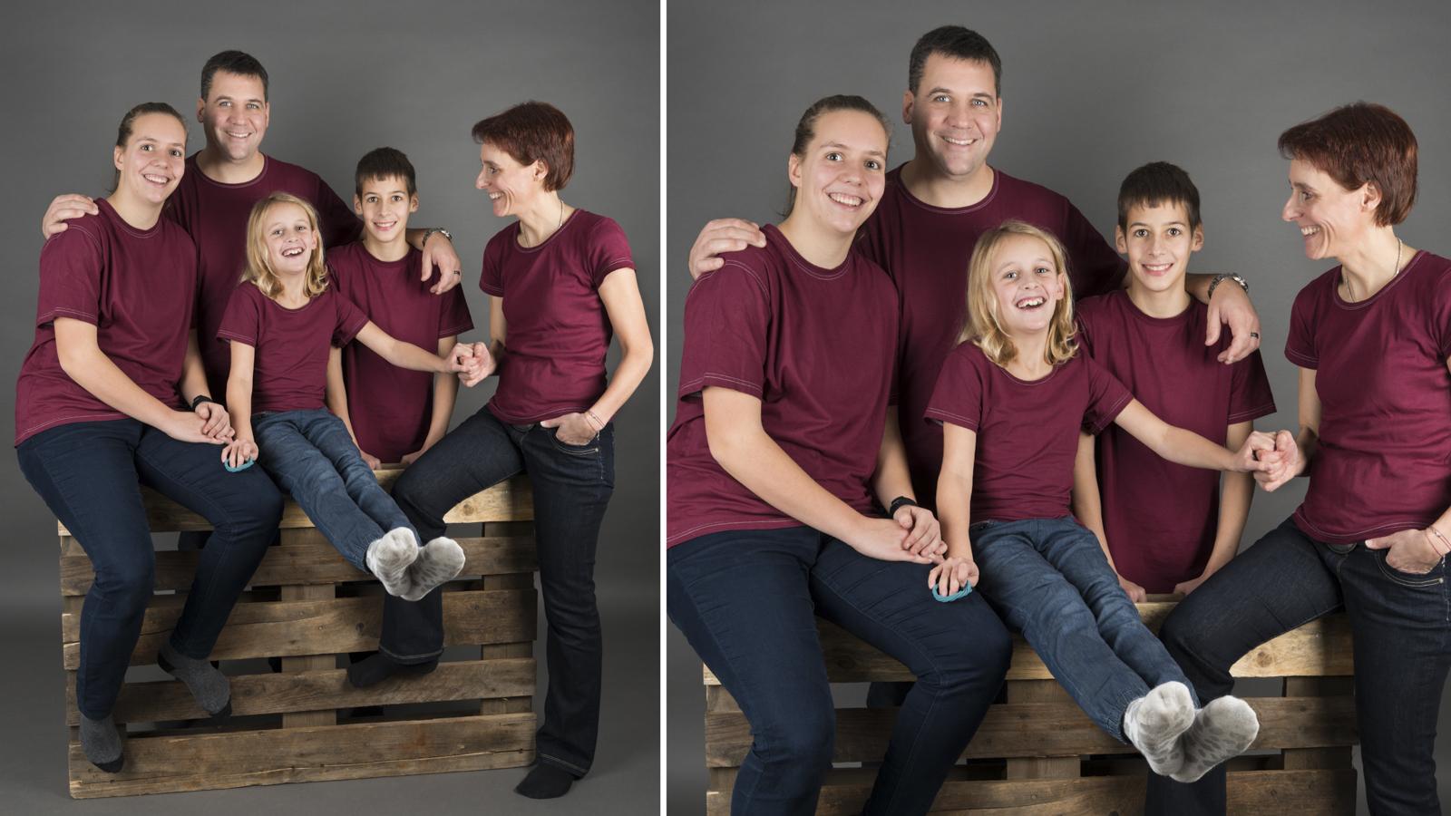 Fotograf für Familien portraits