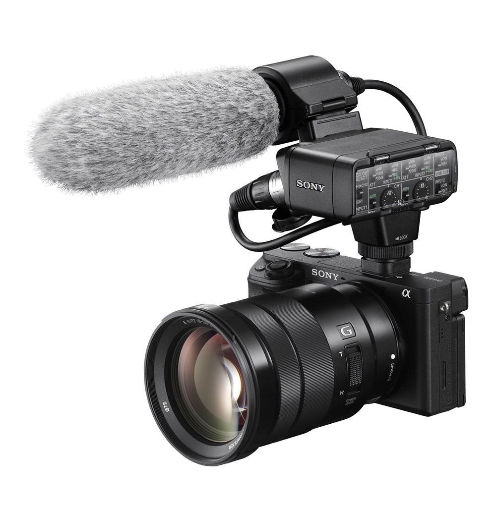 Sony Alpha a6400 XLR-K2M frü Vloger