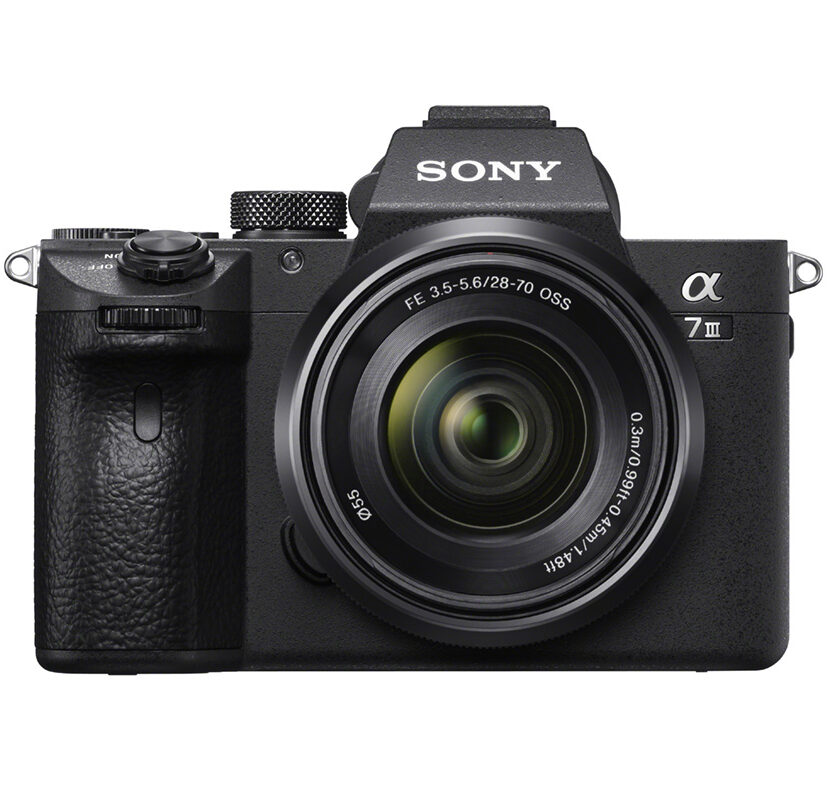 Sony Alpha a7III FE2870_front