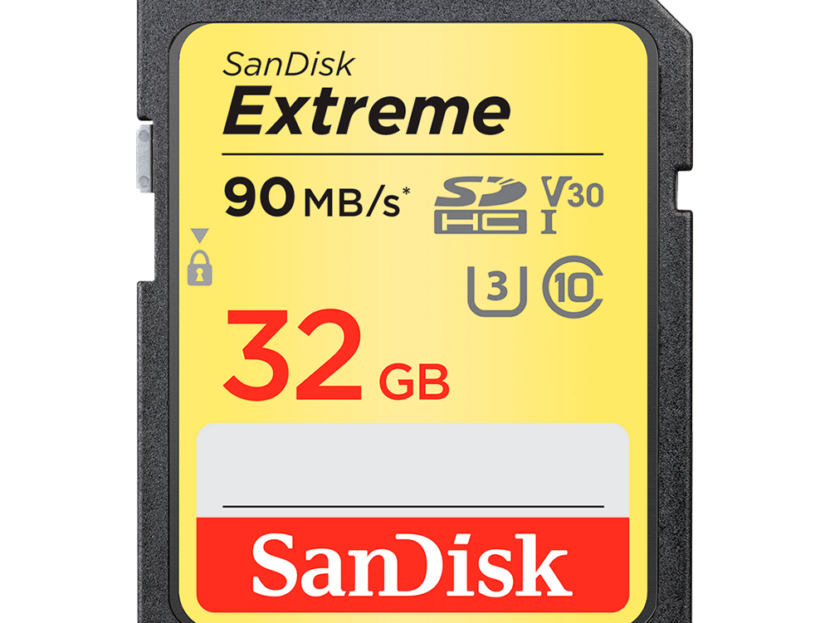 SanDisk Extreme SDHC UHS-I 32GB 90MB/s