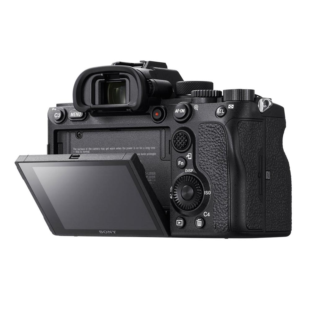 Sony Alpha a7R Mark IV Body back display