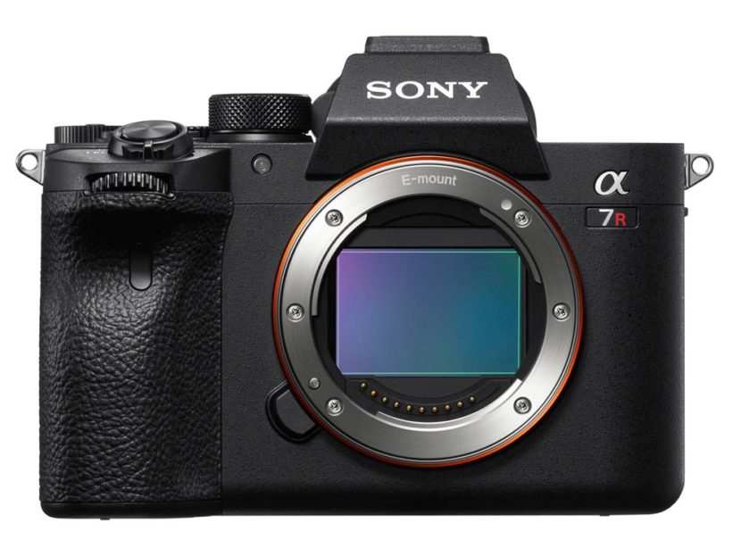 Sony Alpha a7R Mark IV Body front
