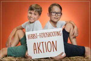 Fotomorgenegg Kinder-Herbstshooting