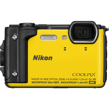 nikon_coolpix_w300_yellow_front