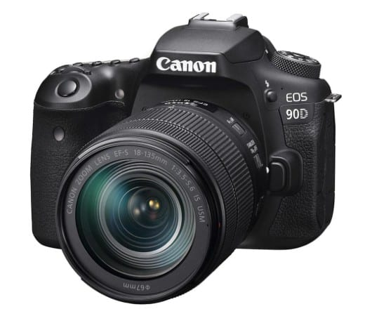 Canon EOS 90D Kit 18-135mm IS USM