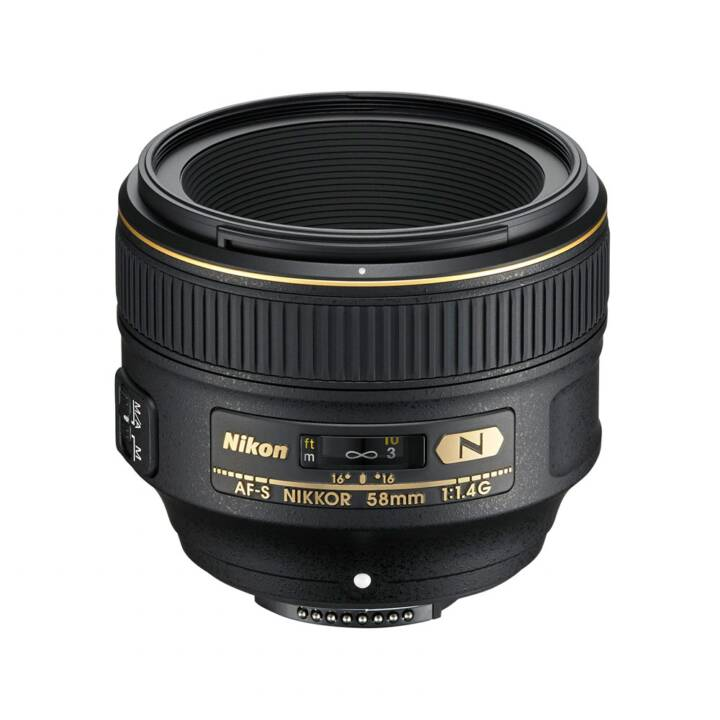 nikon nikkor af-s 58mm f/1.4g