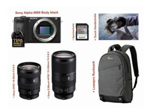 Sony Alpha 6600 16-55mm 70-350mm Kit