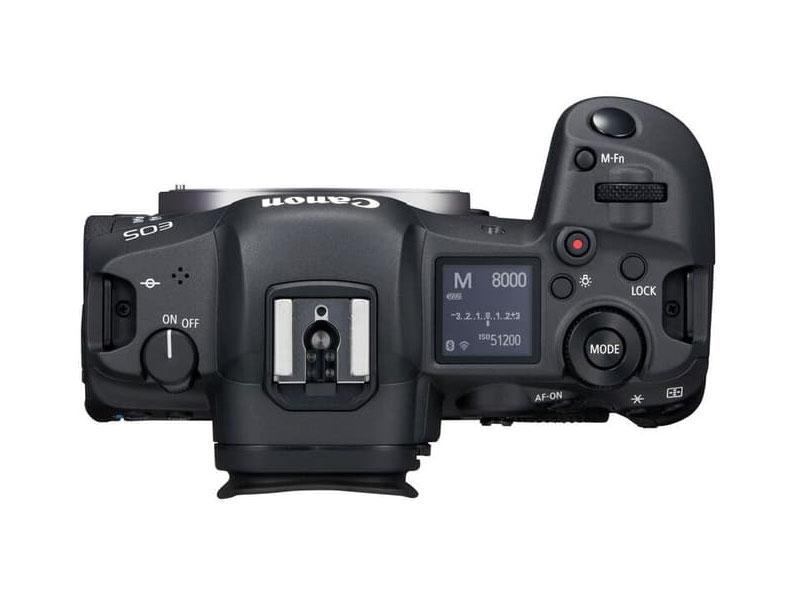 Canon EOS R5 Body Topview