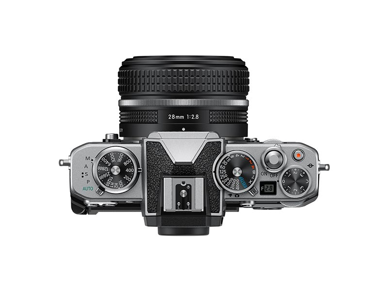 Nikon Z fc Kit Z 28mm f2.8 SE Topview